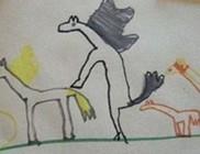 Kínos gyermekrajzok