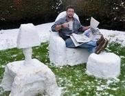 A tél humoros oldala