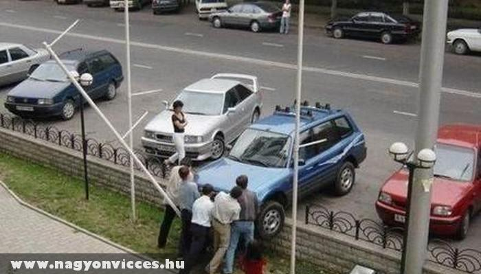 Túlszaladt parkolás