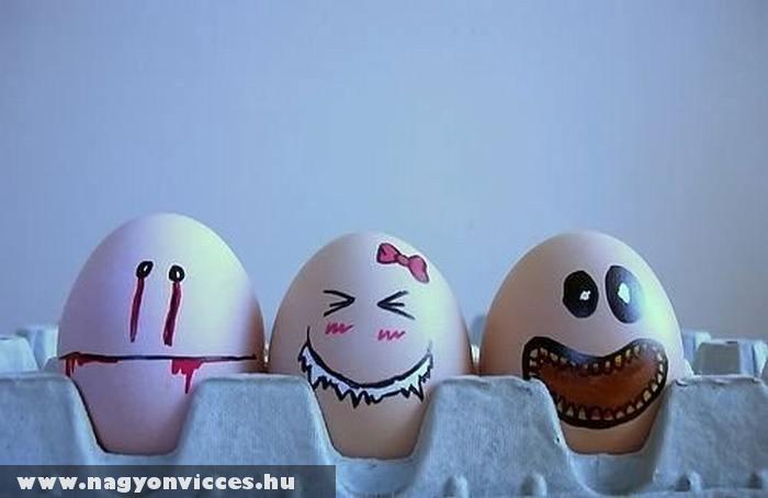 Különös tojások