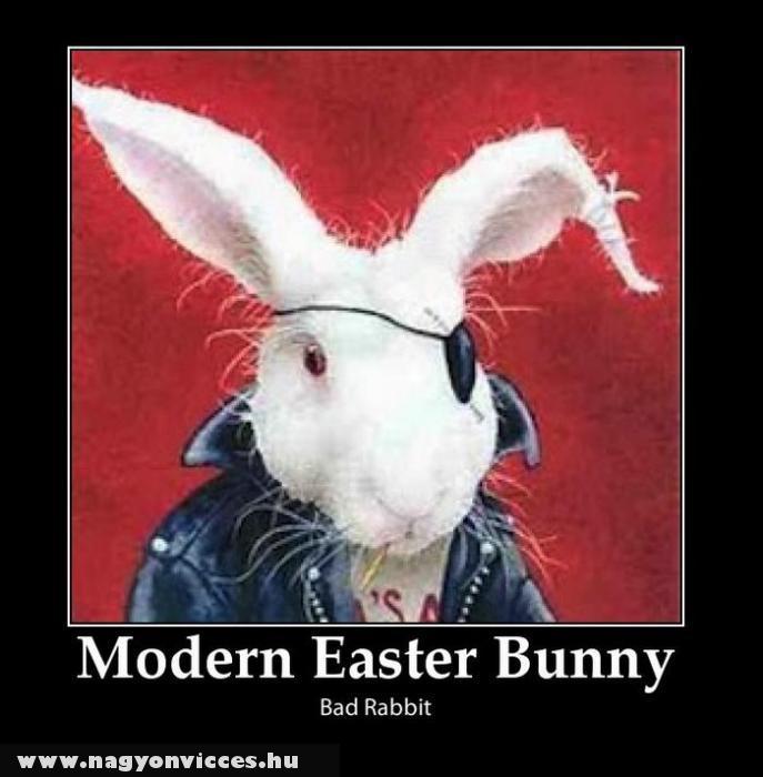 Modern húsvéti nyúl
