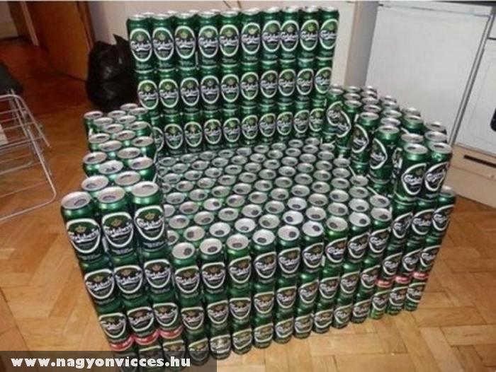 Fotel sörimádóknak