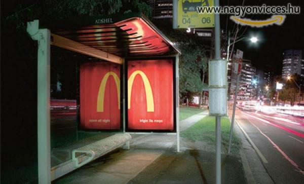 Gyorsétteremi buszmegálló
