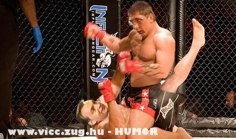 MMA : Csak a fejét