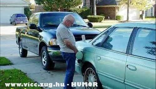 Drága a benzin
