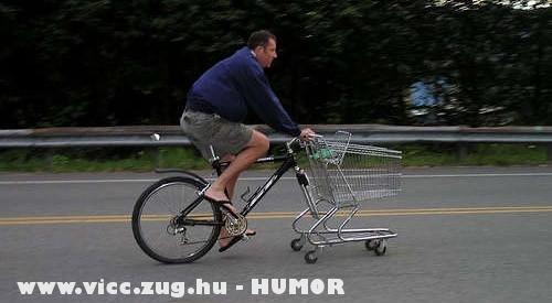 Hatékony kerékpár