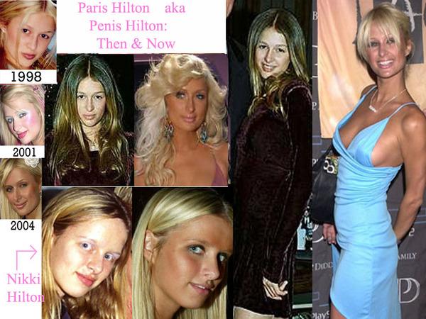 Paris Hilton (régen és most)