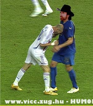 Zidane és Chuck