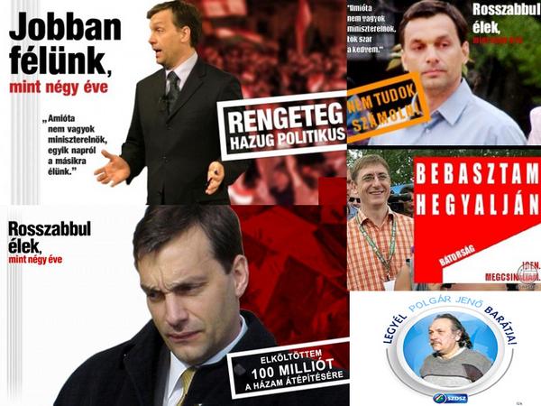 Politikai plakátok 4