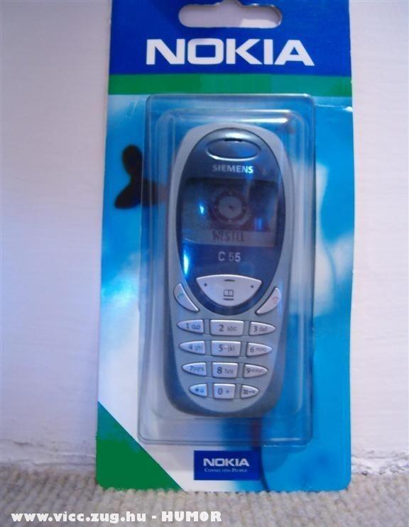 Nokia tokban Siemens mobil