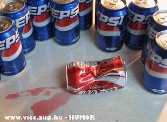 Coca Cola a banda fogságában