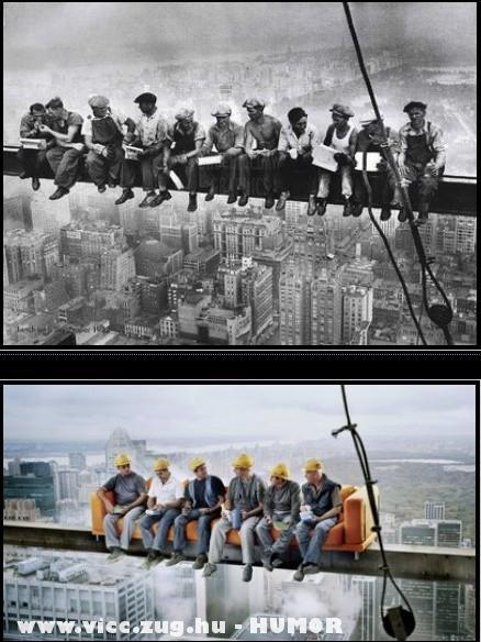 Építészek régen és ma