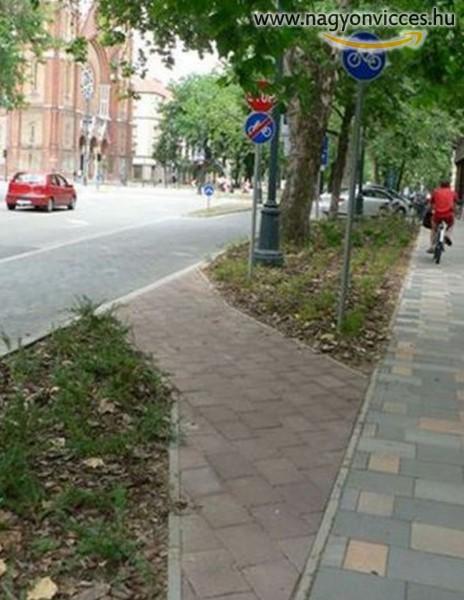 A legrövidebb bicikliút
