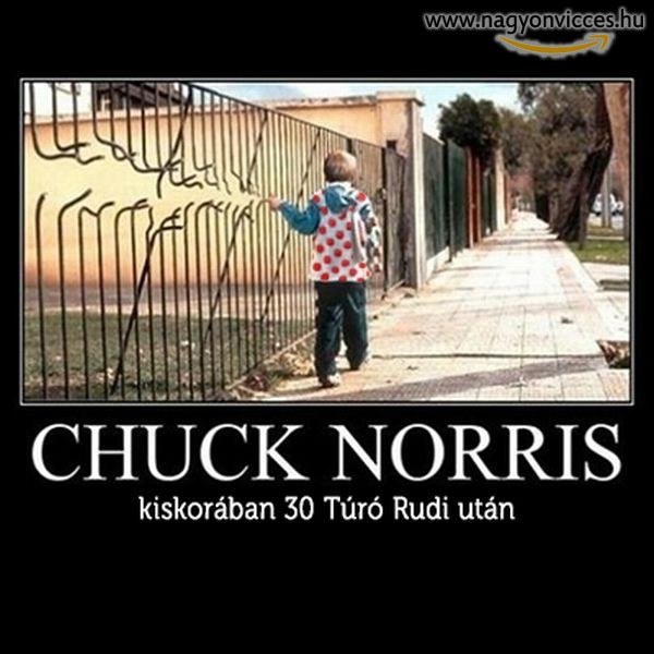 Chuck Norris gyerekként