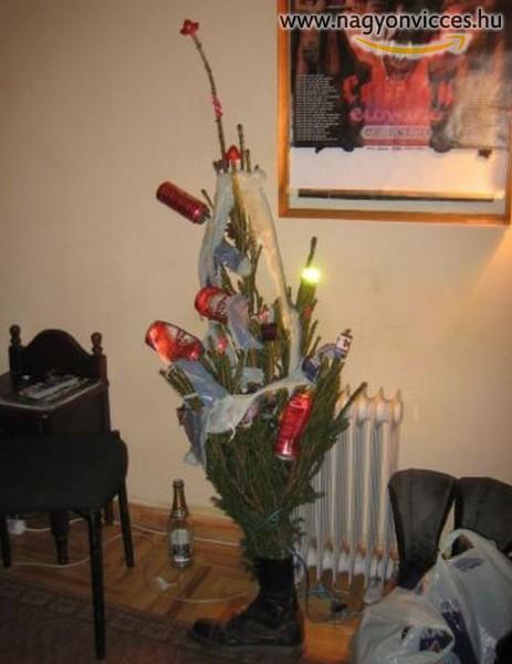Egyedi karácsonyfa