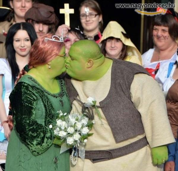 Esküvő Shrek módra