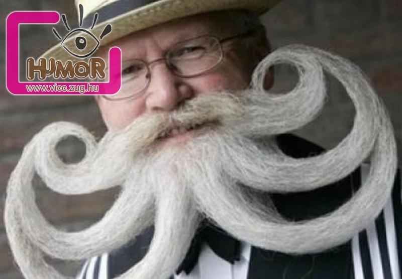 Ez aztán a szakáll