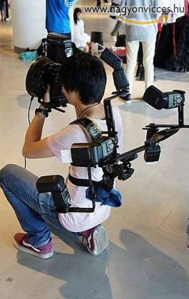 Ezt aztán a fotósfelszerelés