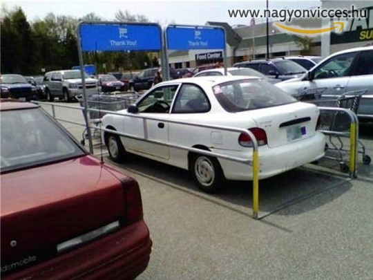 Ideális parkolóhely