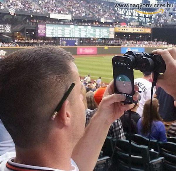 Így is lehet távolra fényképezni