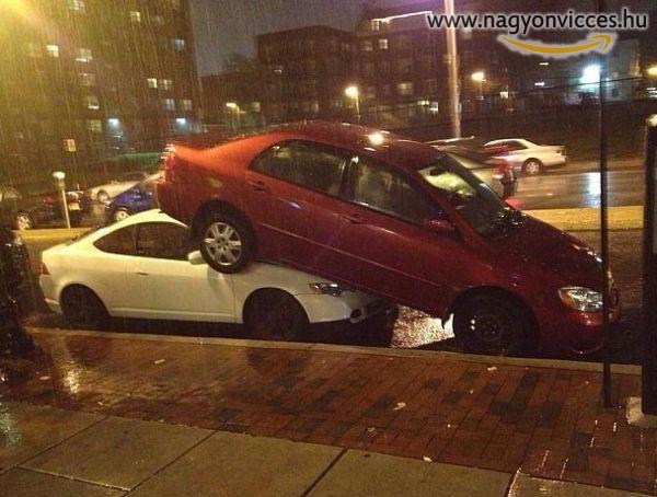 Így kell parkolni