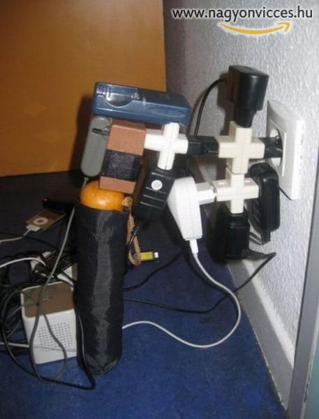Jól kihasznált konnektor