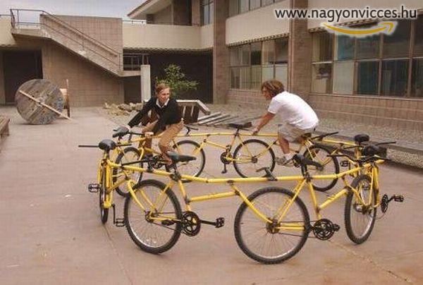 Körbe-körbe bicikli