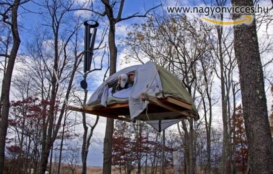 Különös sátorozóhely