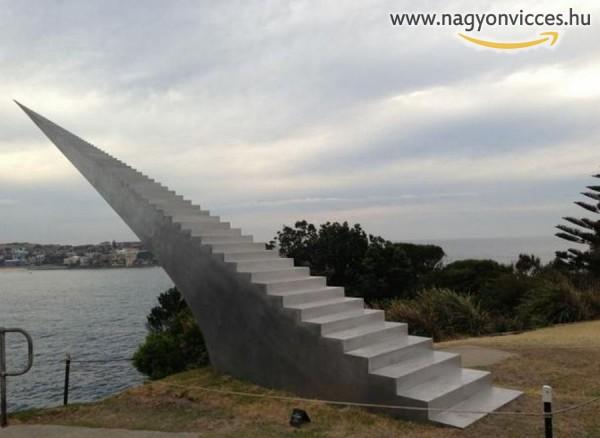 Lépcső a semmibe