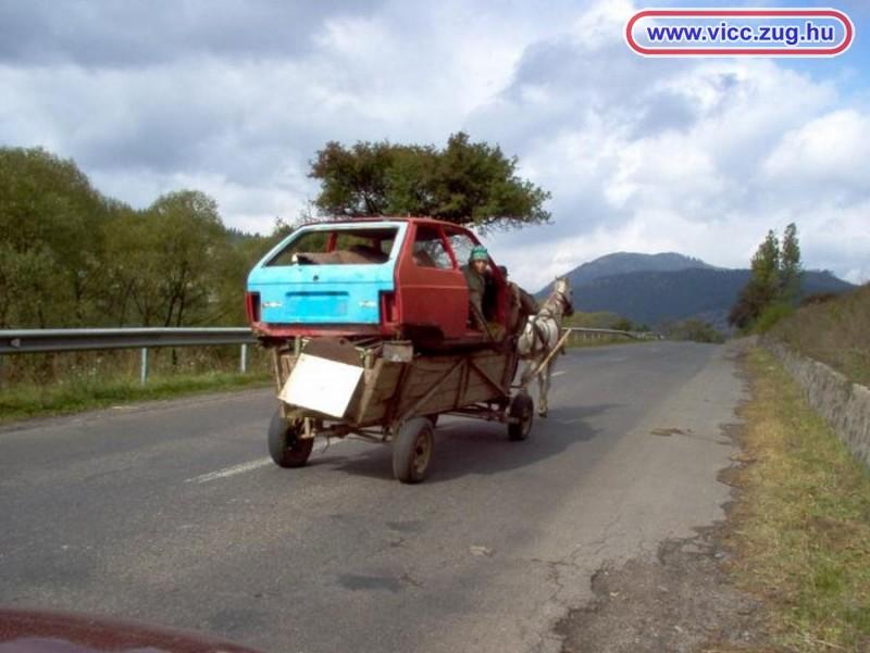 Ló vontatta személykocsi