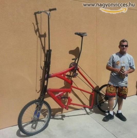 Magasított bicikli