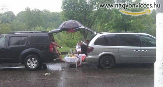Piknik az esőben