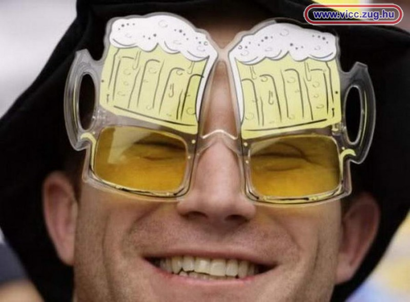 Szemüveg sörkedvelőknek
