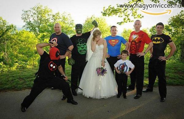 Szuperhős esküvő