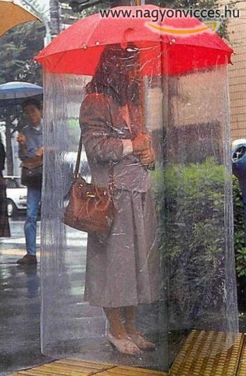 Teljes védelem az eső ellen