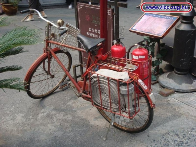 Tűzoltó bicikli