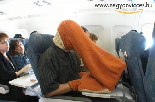 Utazás a repülőn