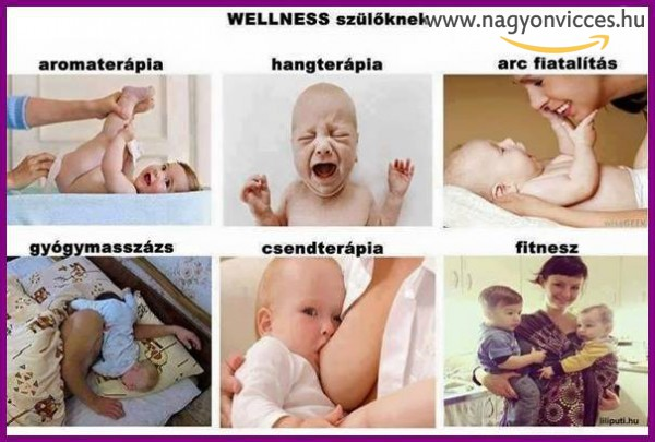 Wellness szülőknek