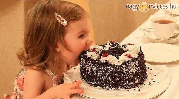 Azt mondták: nem nyúlhatok a tortához