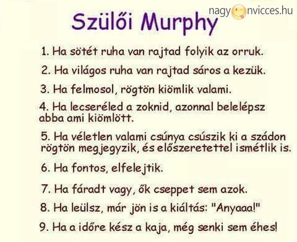 Szülői Murphy