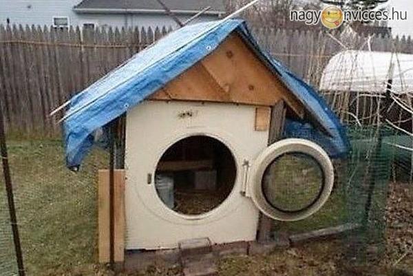 Ez aztán a kutyaház