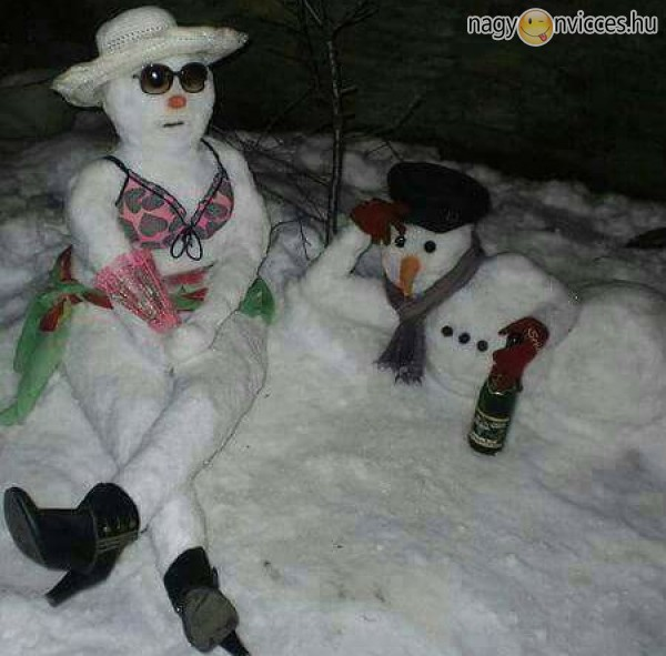 Hóember buli