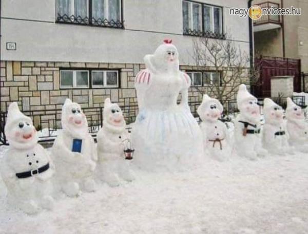 Hófehérke és a hét törpe