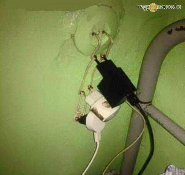 Elektromos rákötés