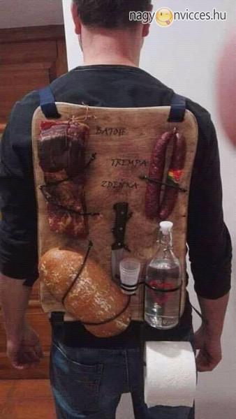 Életmentő hátizsák