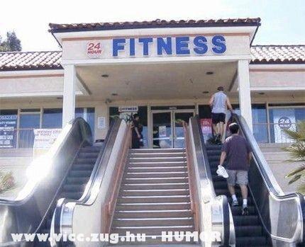 Ne mozogj fitness!