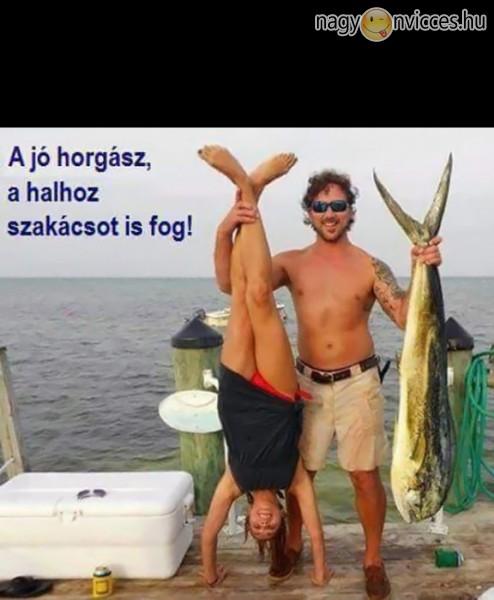A jó horgász