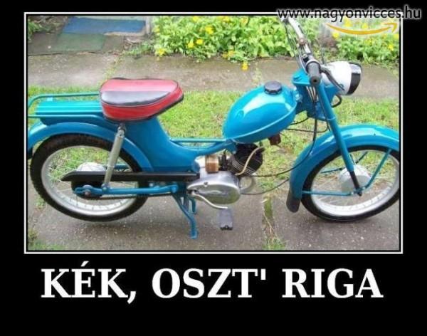 A kék Osztriga bár motorja