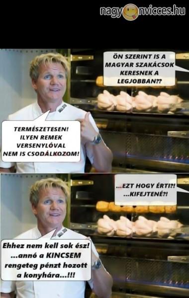 A magyar szakácsok