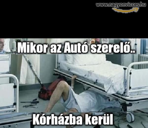 Autó szerelő